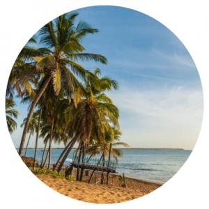 Arugam Bay is één van de hotspots op Sri Lanka