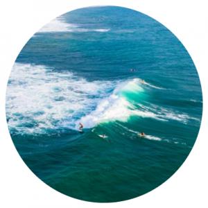De meest populaire activiteit op Sri Lanka is surfen
