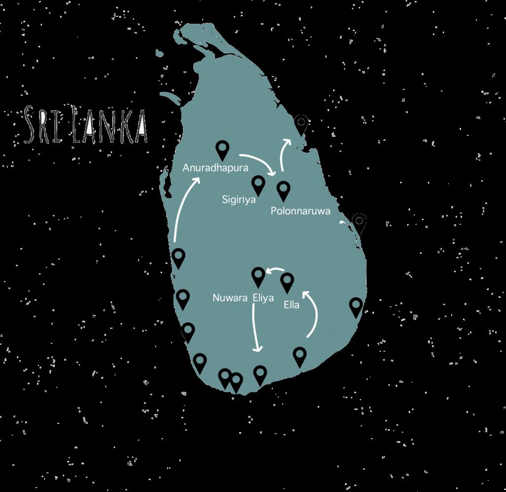 Een rondreis Sri Lanka langs de mooiste plekken